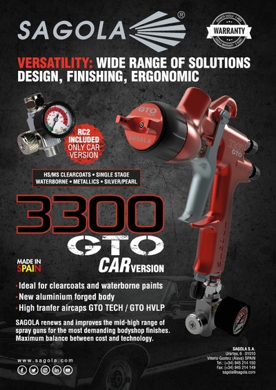 3300 GTO CAR spray gun