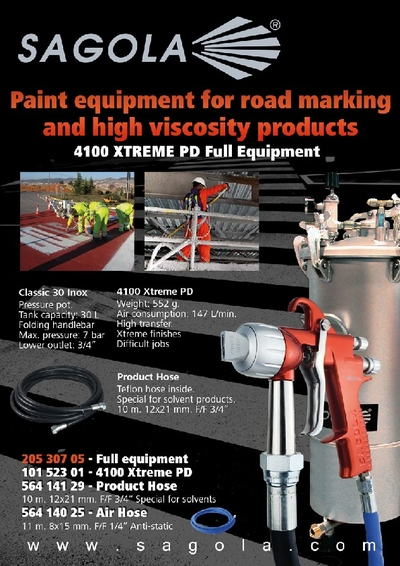 4100 Xtreme PD full equipment