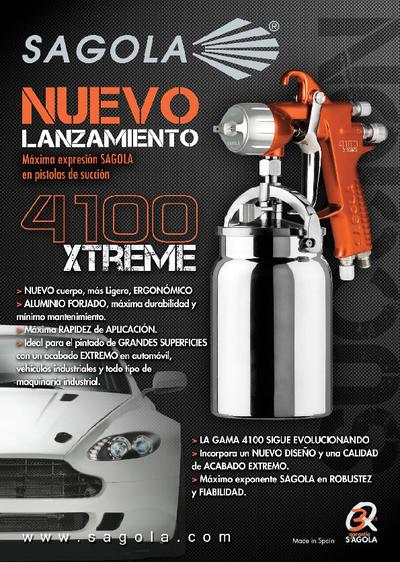 4100 Xtreme Succión