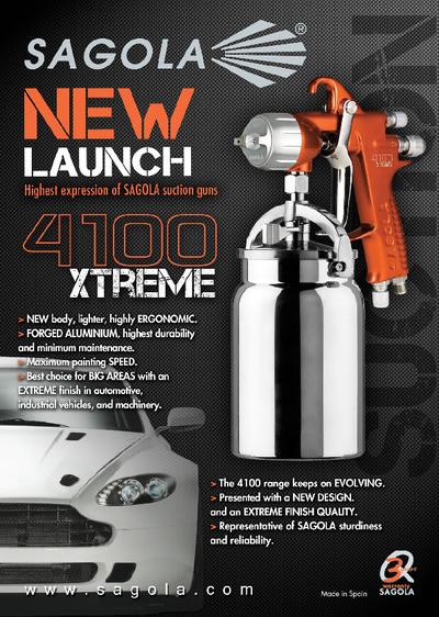 4100 Xtreme Suction