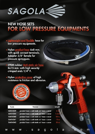 Air and Product hose set