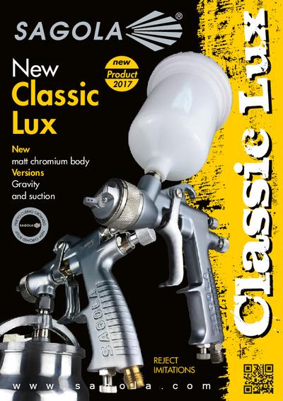 Classic Lux spray gun