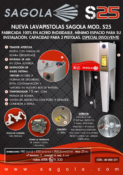 Lavadora S25