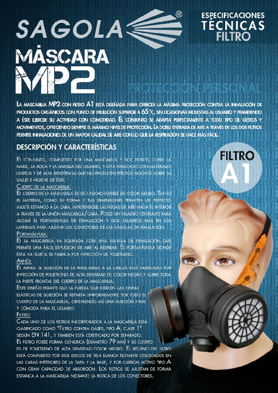 Máscara MP2