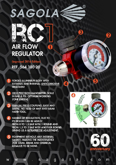 RC1 Air flow regulator
