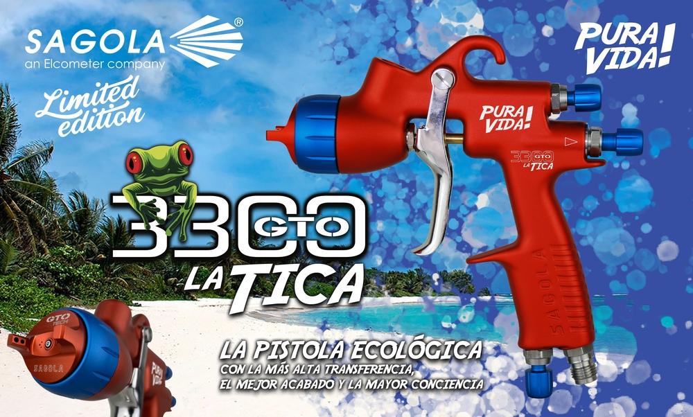 """Sagola presents the new Limited Edition """"3300GTO La Tica"""""""
