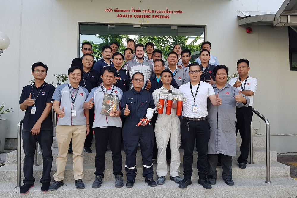Training seminar in Axalta Thailand and Malaysia