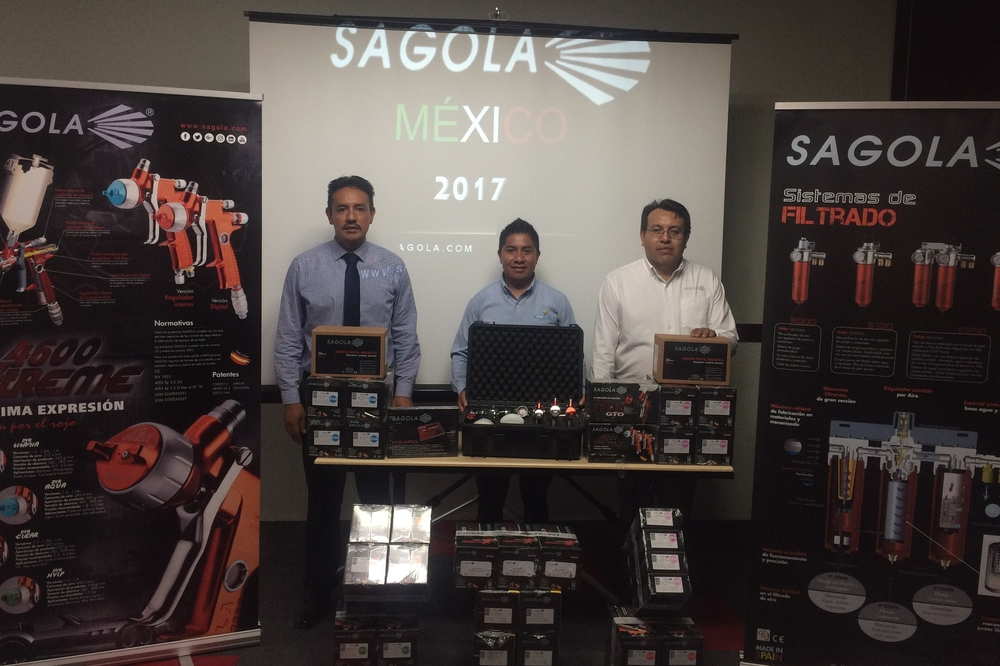 Training and painting equipment for cesvi mexico