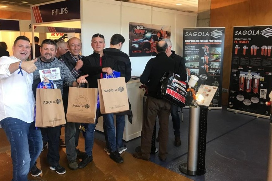 SAGOLA SUPPORTS DISTRIBUTOR'S TRADE SHOWS