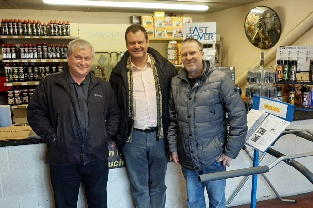 We visit our official importer GRUPO PARRYS
