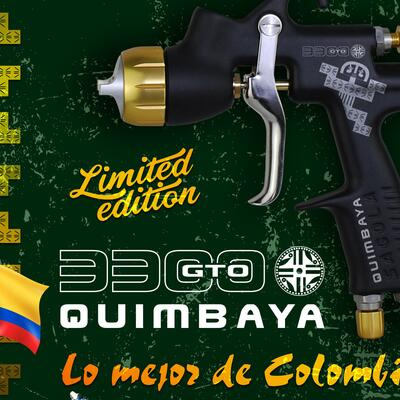New 3300GTO QUIMBAYA, inspired in Colombia
