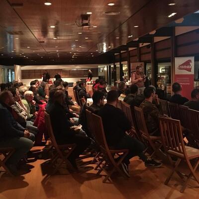 Product presentation of Miguel Accessories in La Coruña