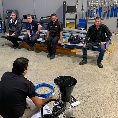 Sagola visited Axalta Australia