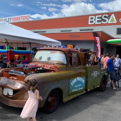 Sagola en la feria de Comercializadora Automotriz 4J en Costa Rica