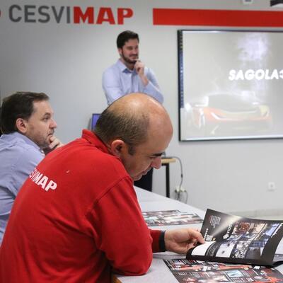 Presentación de novedades Sagola en Cesvimap