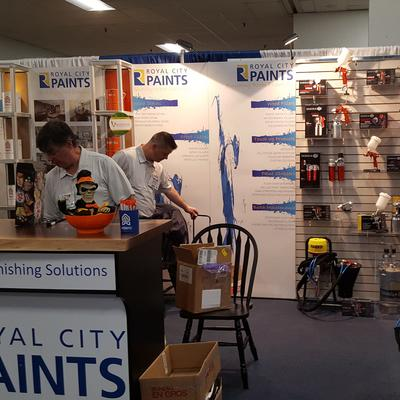 SAGOLA PRESENT AT WMS 2019 SHOW ALONG WITH ROYAL CITY PAINTS