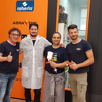 Training in roberlo abrastuk