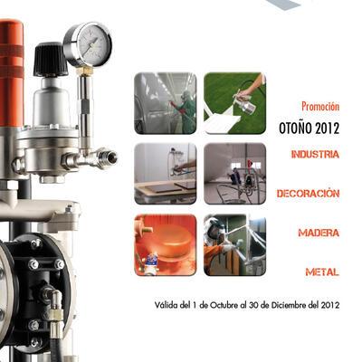 SAGOLA distribuye el NUEVO FOLLETO Promocional para los sectores de la Industria, Decoración, Madera y Metal. OTOÑO 2012