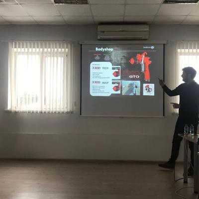 Presentaciones de producto en Rusia