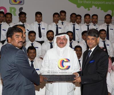 SAGOLA celebra el 25 aniversario de nuestro importador en Arabia Saudí