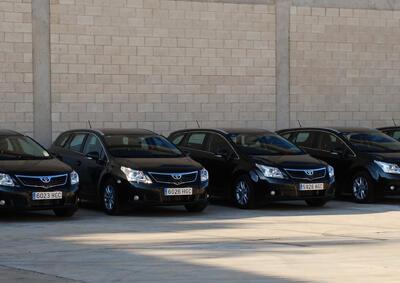 SAGOLA hace entrega de la nueva flota de vehículos a su red comercial