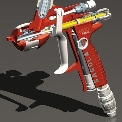 SAGOLA lanza su nueva pistola 4500 Xtreme