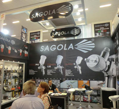 SAGOLA da a conocer su nueva planta en MÉXICO aprovechando la FERIA EXPOFERRETERA de GUADALAJARA 2012