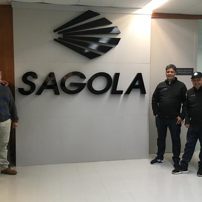 Visit from Coherco to Sagola