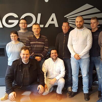 Visita del equipo de Spekter (Eslovenia)